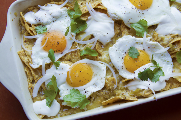 Rick Bayless | Chilaquiles for a Crowd