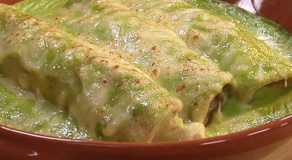 Rick Bayless Enchiladas Especiales Tacuba Style