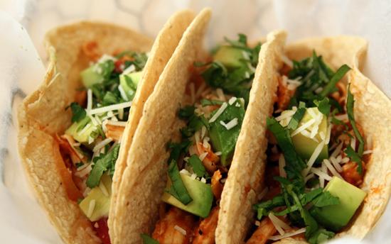 Rick Bayless | Chipotle Chicken Tinga Tacos