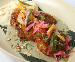 Crispy Vegetable Milanesa