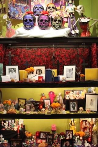Frontera's Día De Los Muertos altar
