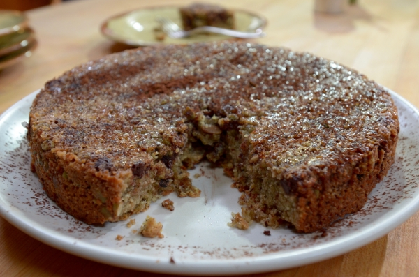 Chocolate Cake With Candied Ancho Chile