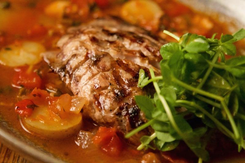 Rick bayless frontera grill for Fish veracruz recipe